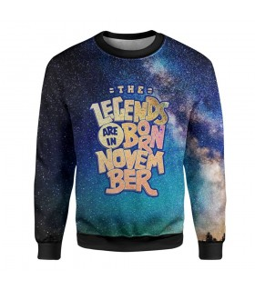november printed sweatshirt