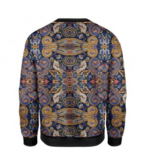 indian art printed sweatshirt