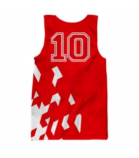 arsenal all over printed tank top