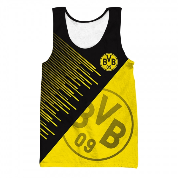 Dortmund All Over Printed Tank Top