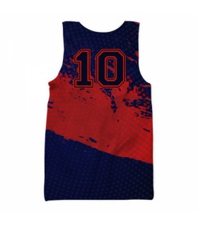 fc barcelona all over printed tank top