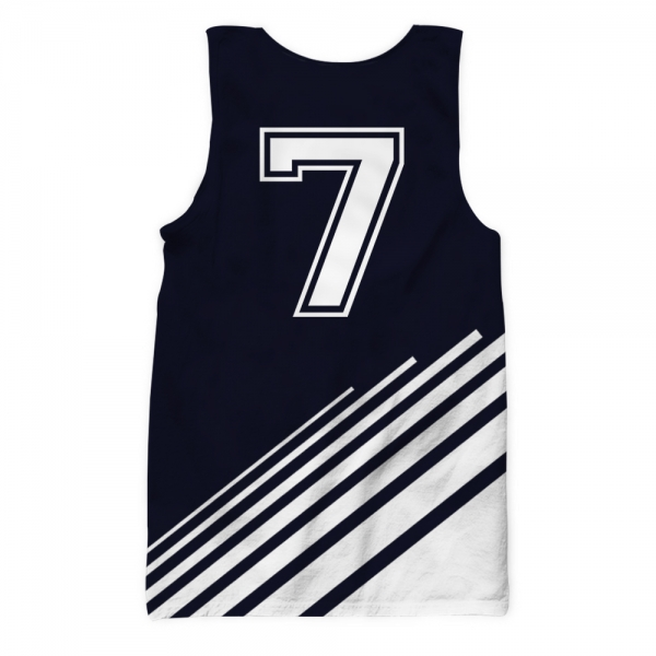Juventus All Over Printed Tank Top