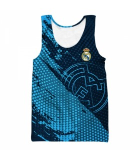 real madrid all over printed tank top