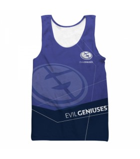 EVIL GENIUSES all over printed tank top