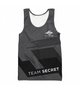 TEAM SECRET all over printed tank top