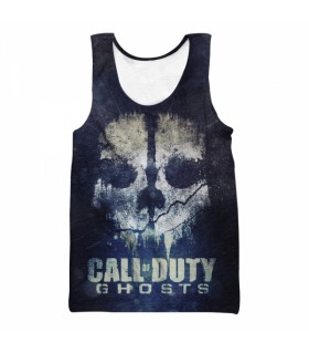 call of duty ghosts all over printed tank top