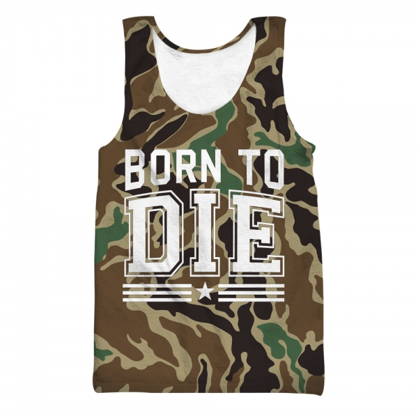 Born To Die All Over Printed Tank Top