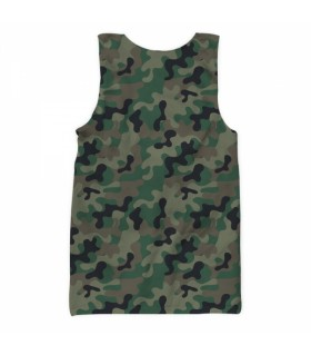 pak army 1947 all over printed tank top