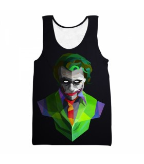 joker all over printed tank top