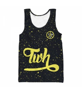 twh summer all over printed tank top
