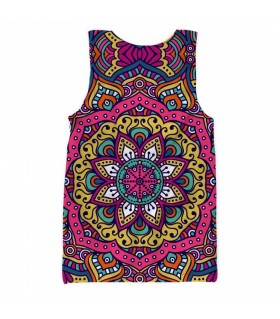 Ethnic Mandala all over printed tank top