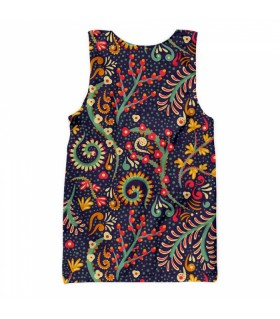floral all over printed tank top