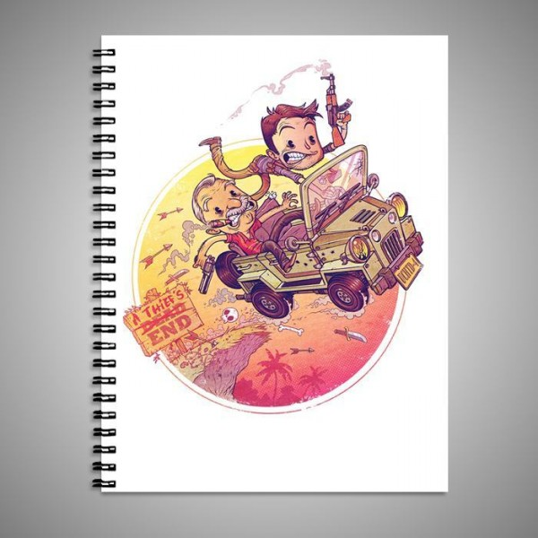 A Thief End Art Printed Notebook