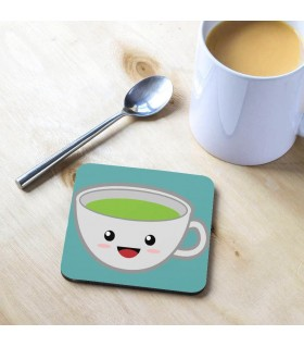 kawaii tea cup Tea Coaster