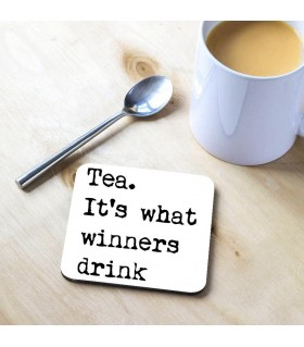 Winner Drink Tea Coaster