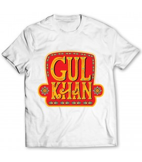 gul khan printed graphic t-shirt
