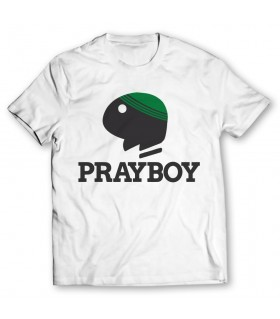 Prayboy printed graphic t-shirt