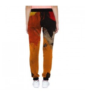 WATERCOLOR print jogger pant