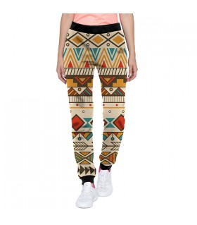 abstract design jogger pant
